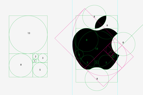 Apple Logo and The Golden Ratio