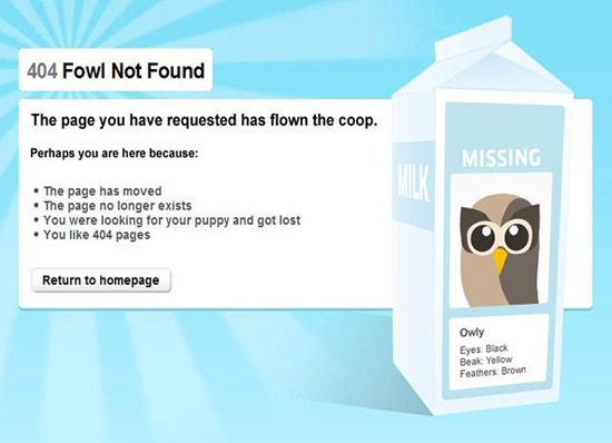 The Most Creative & Best 404 Error Page Designs