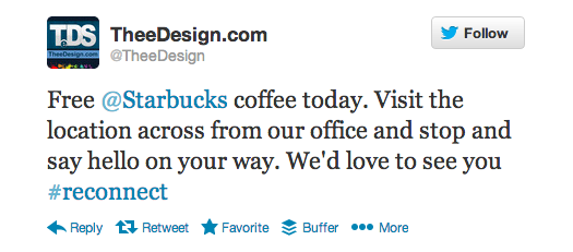 TheeDesign Twitter Tips: Engage your audience