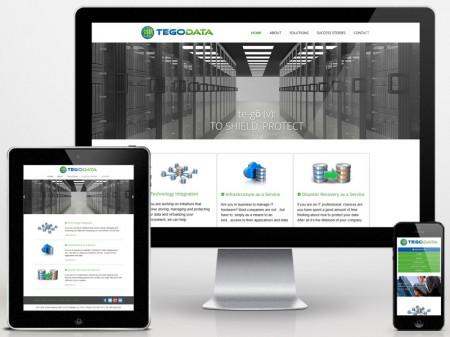 TegoData Responsive Web Design