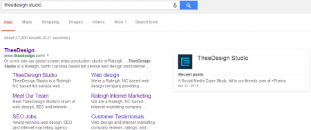 TheeDesign Studio Google Publisher