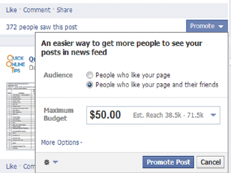 Why Business Should Use Facebook Promoted Posts