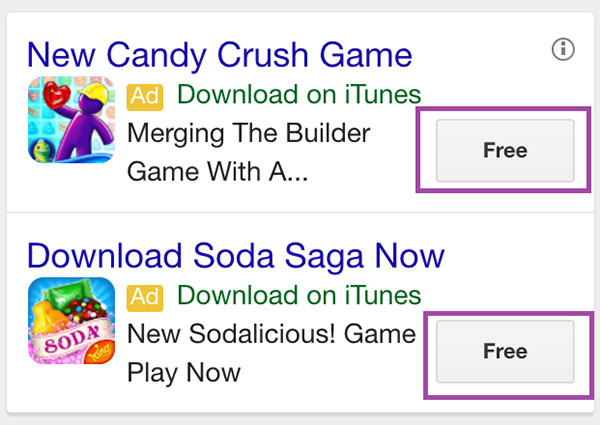 Candy Crush App Extensions
