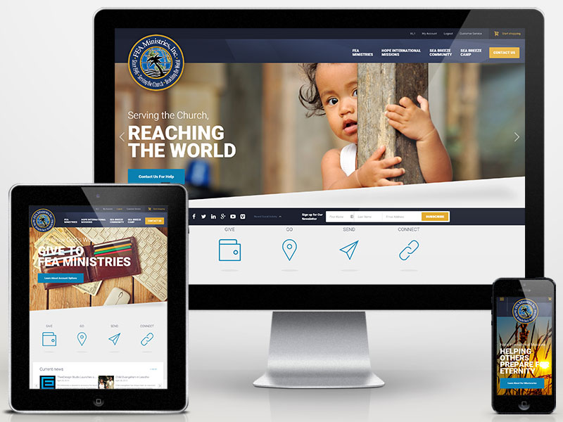 Nonprofit Organization Web Design