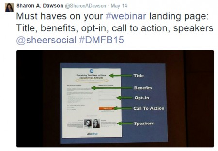 Webinar Landing Page Must Haves
