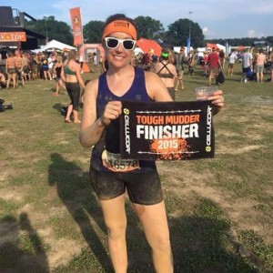 Keri is a Tough Mudder