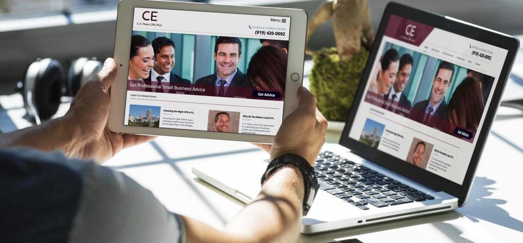 CPA Web Design and SEO