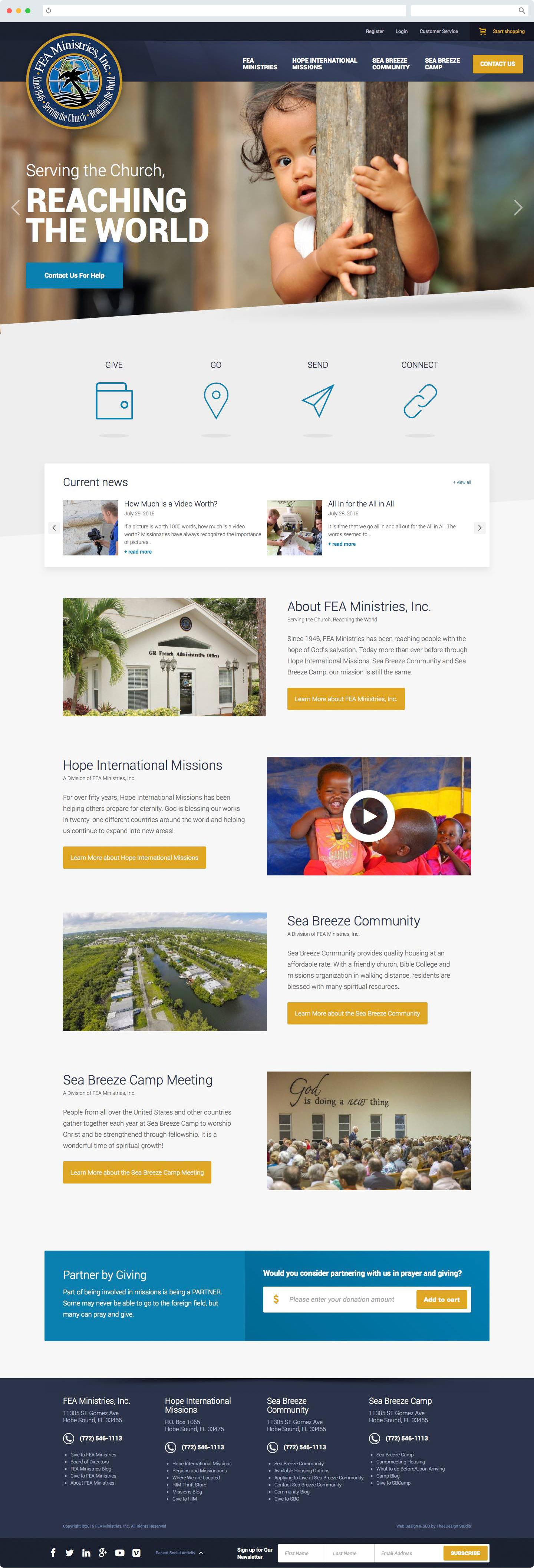 Nonprofit Web Design