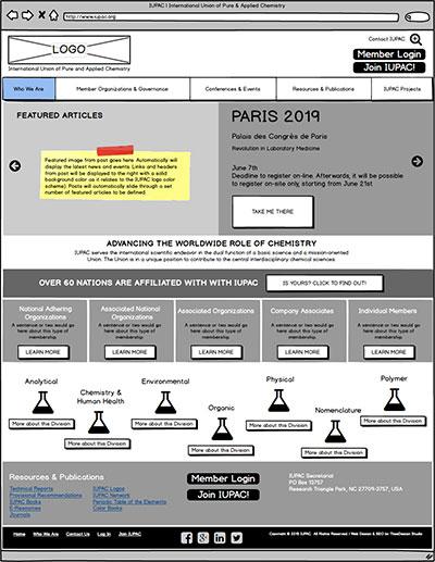 IUPAC-Homepage-Wireframe