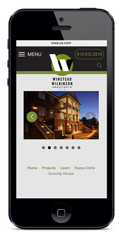 Winstead Wilkinson Responsive Web Design