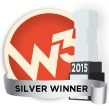 W3 Silver Web Design Award Raleigh