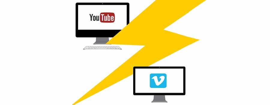 YouTube and Vimeo