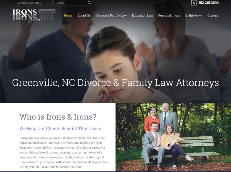 Divorce Lawyer Website