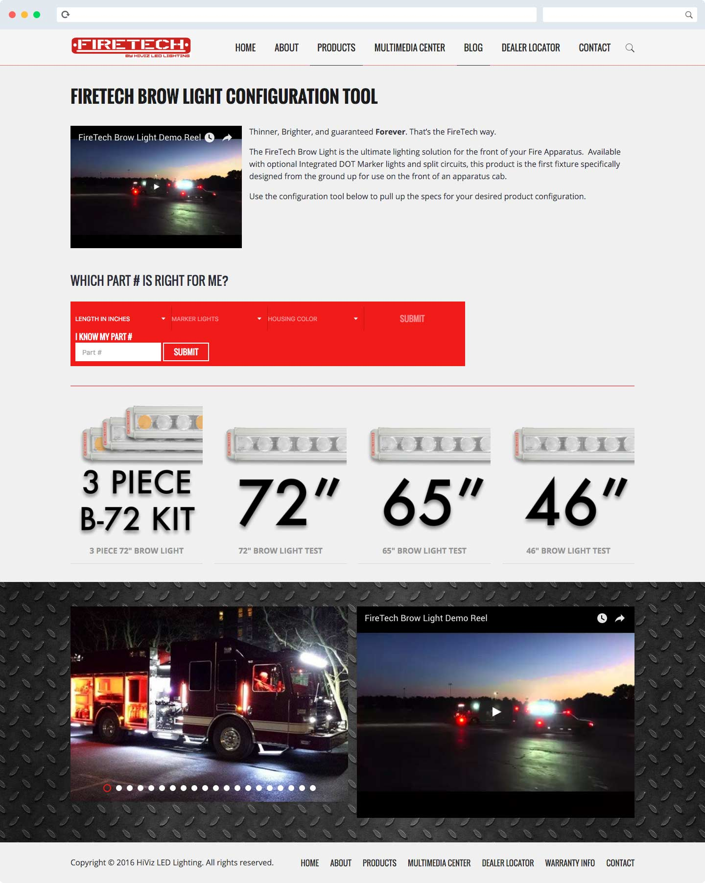 Website Design for HiViz