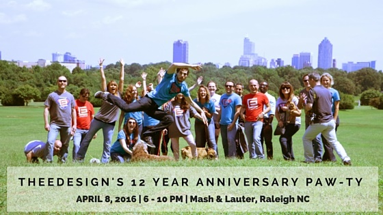 Raleigh Web Design Agency Anniversary Party