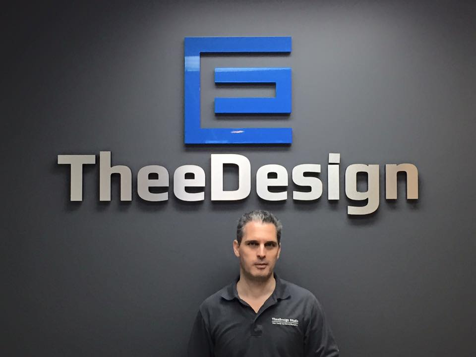 TheeDesign Sign and Richard