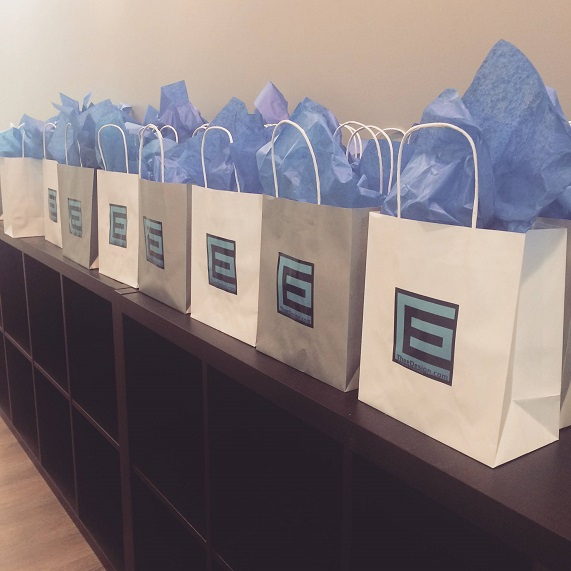 Goody Bags for Anniversary Pawty Guests