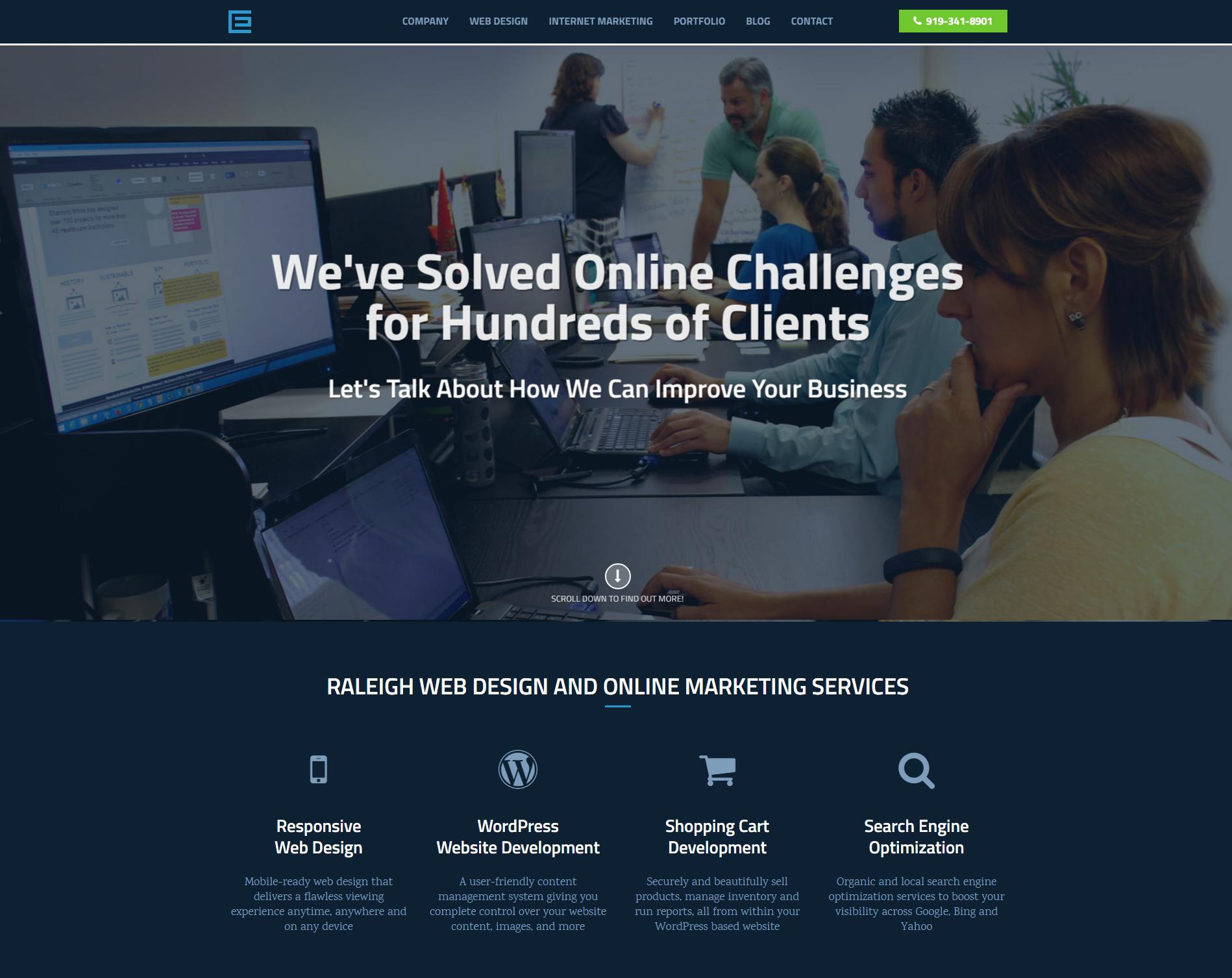 Raleigh Website Redesign