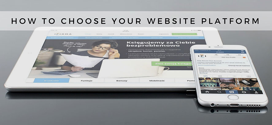 choose your website platform
