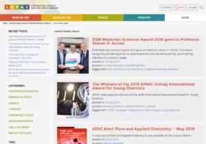IUPAC News Page