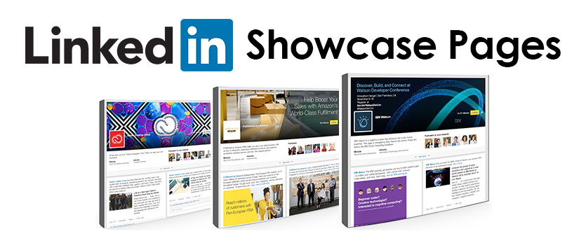 linkedin showcase pages for small and medium businesses