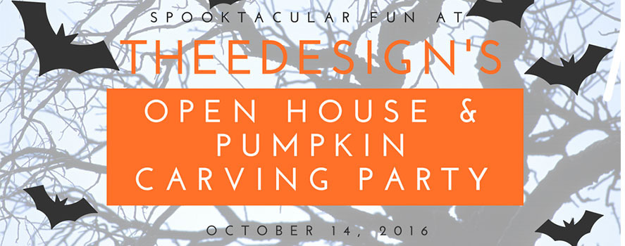 TheeDesign Halloween Open House 2016