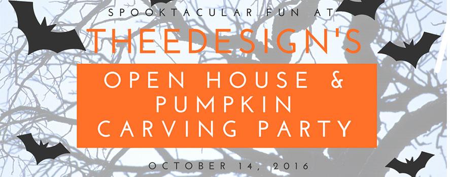 TheeDesign Halloween Open House 2016