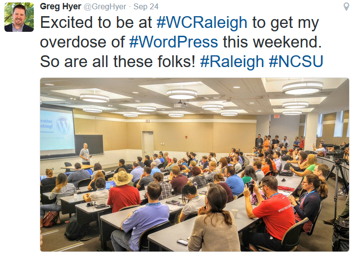 WordCamp Raleigh 2016