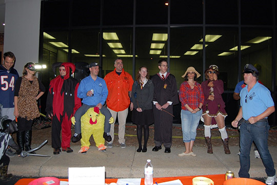 Halloween 2016 at TheeDesign - Raleigh Web Design and Digital Marketing - Costume Contest with Adults