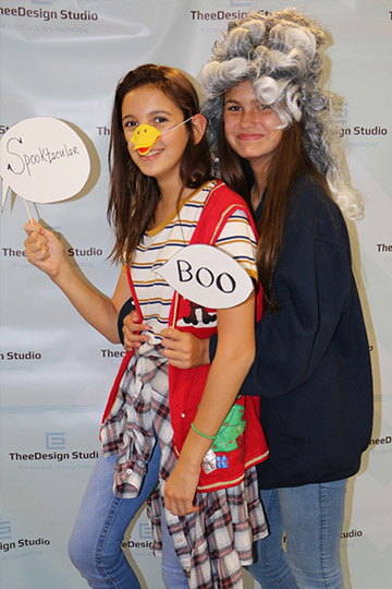 Halloween 2016 at TheeDesign - Raleigh Web Design and Digital Marketing - Photo booth 1