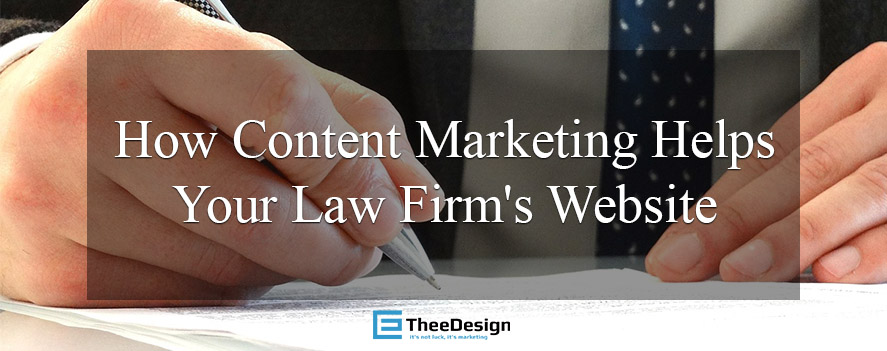 Content Marketing for Law Firms by TheeDesign in Raleigh