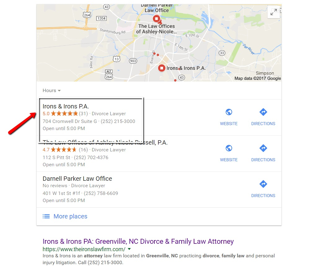 Google Reviews Lawyers
