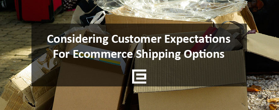 Considering Customer Expectations for Ecommerce Shipping Options - TheeDesign Ecommerce Marketing