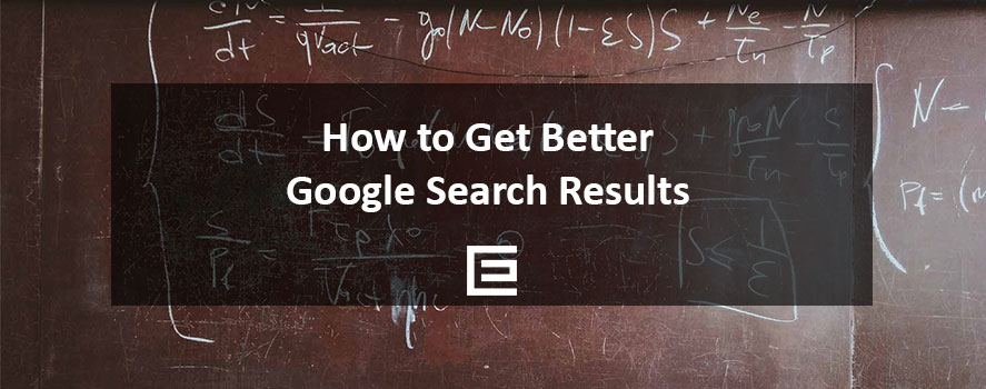 How to Get Better Google Search Results - TheeDesign SEO Agency