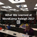 What We Learned at WordCamp Raleigh 2017 – TheeDesign
