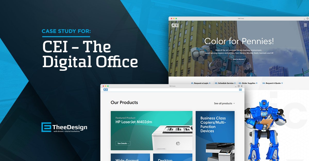 CEI - The Digital Office - TheeDesign Client Case Study