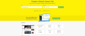 Pingdom Website Speed Test Tool