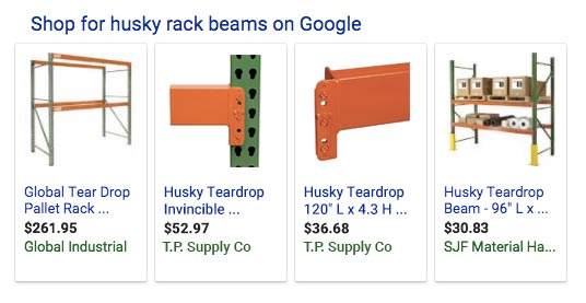 Google Shopping Ad TP Supply