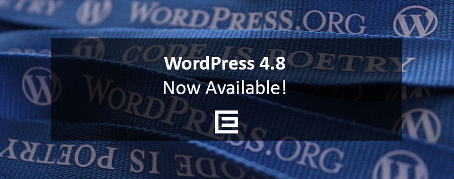WordPress 4.8Now Available | TheeDesign