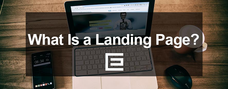 What is a landing page? TheeDesign Raleigh NC