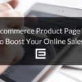 ecommerce product page tips