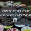 WordPress Password Reset