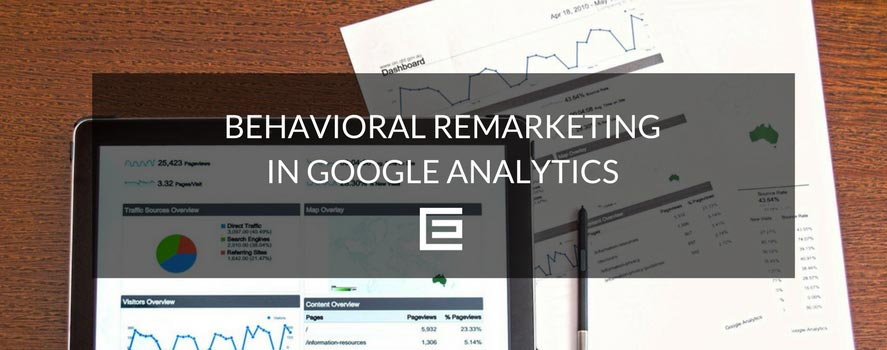 behavioral remarketing in google analytics