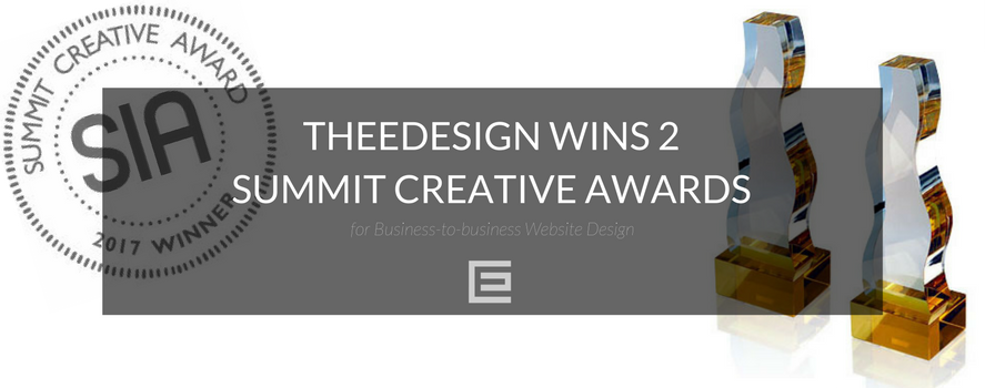 TheeDesign Wins 2 Summit Creative Awards