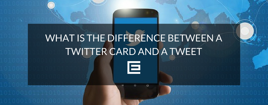 twitter card vs tweet