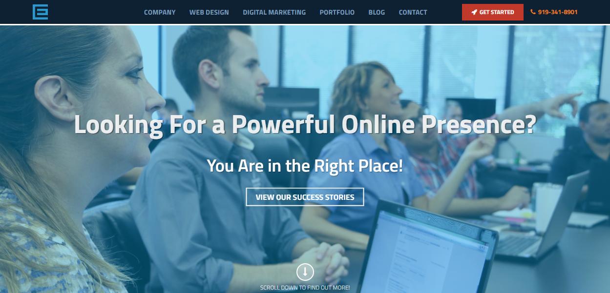 Award-winning Web Design for TheeDesign