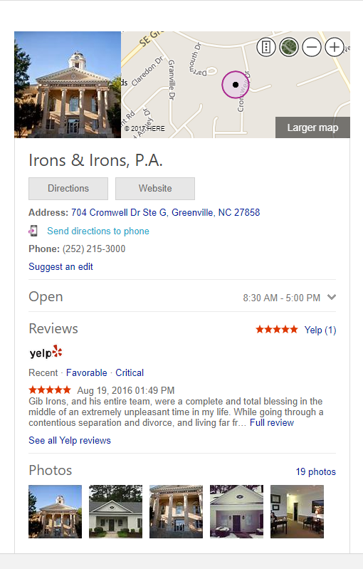 Bing Places Business Graph