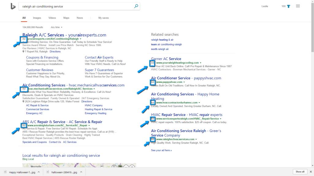 Bing Pay Per Click Ads