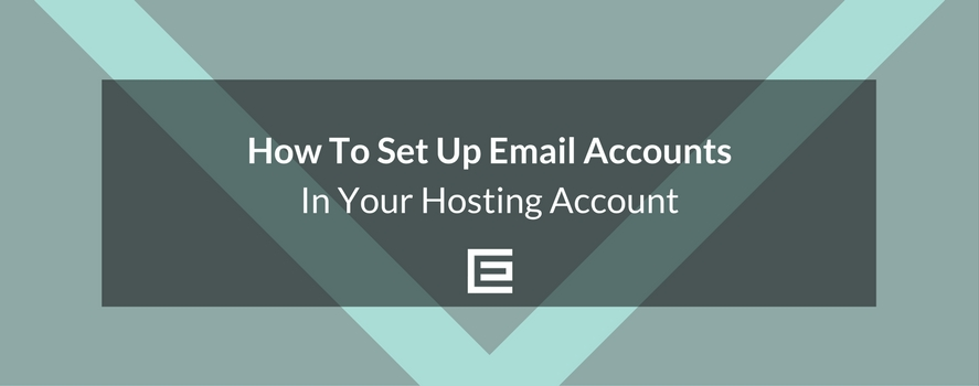How to set up email accounts