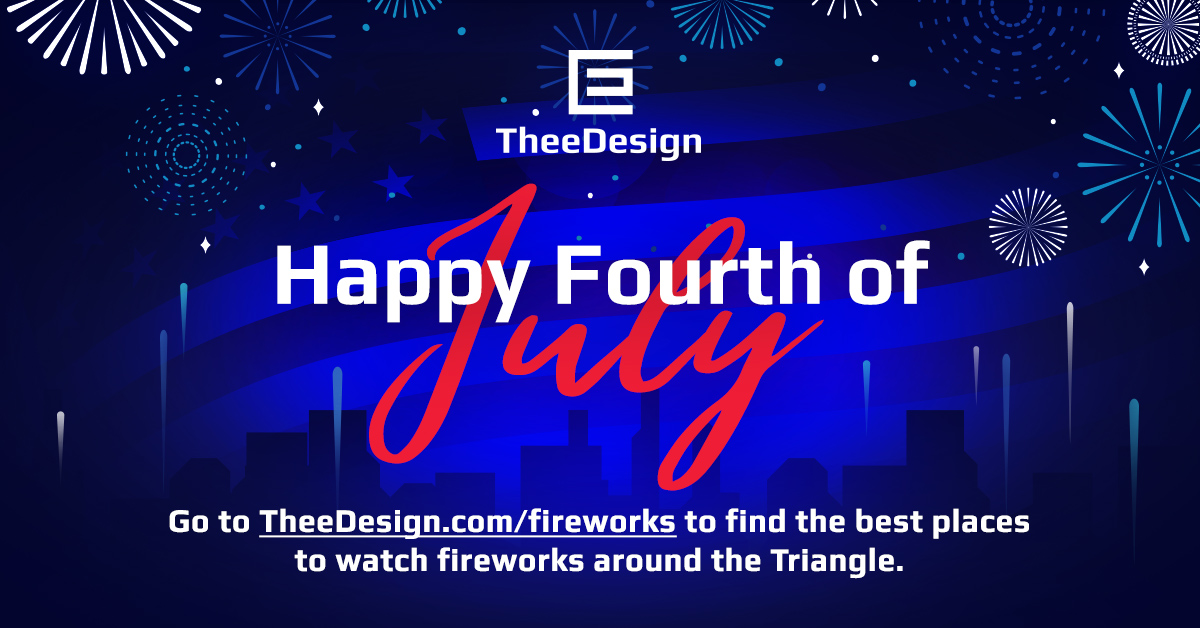 Best 2018 July 4th Fireworks In The Triangle Raleigh Web Design